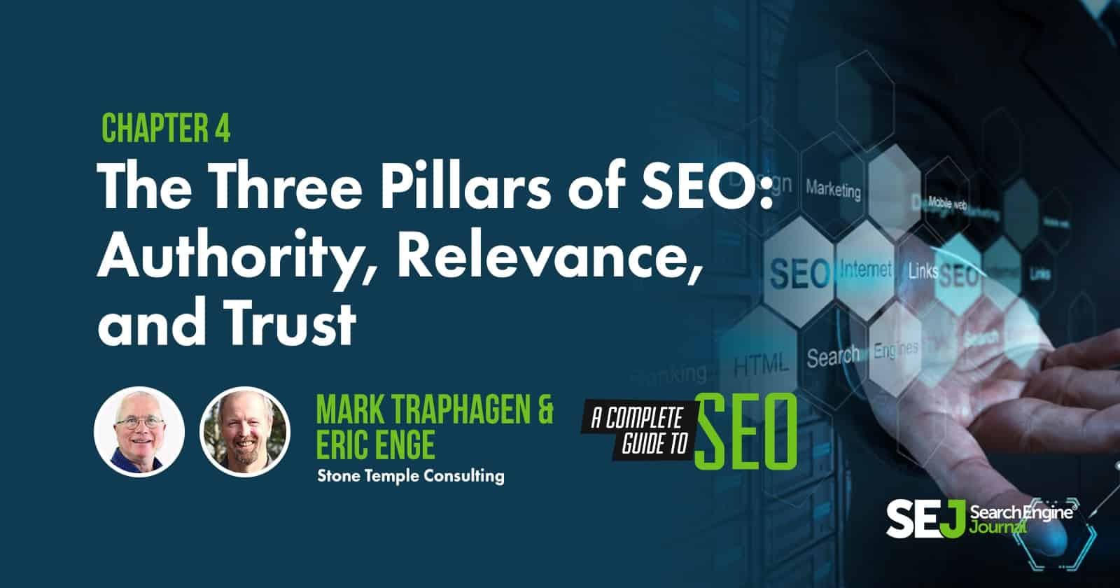 Image for The Three Pillars of SEO: Authority, Relevance & Trust